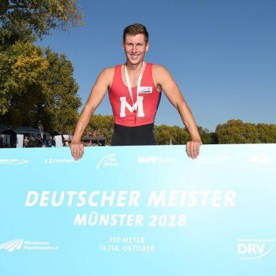 Moritz Moos ist Sprintmeister