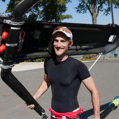 Marco Mattes' Rheinrudern gegen Krebs