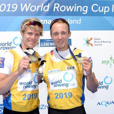 Weltcup-Sieg von Jason Osborne und Jonathan Rommelmann